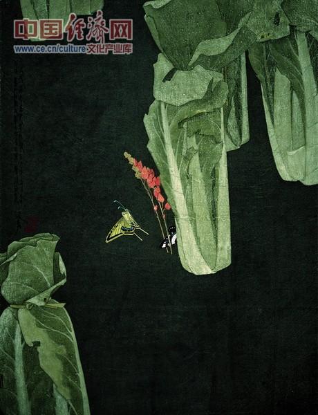 花开花落 1989年 68x68cm