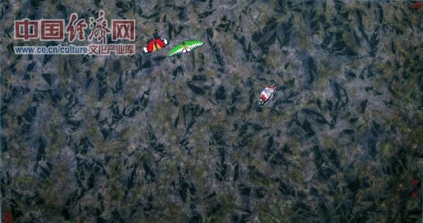 高林密霭 2002年 68x136cm