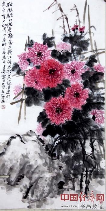 张秀芬国画作品